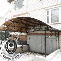 фото_навес_для_гаража